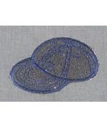 Embroidered Iron-On Denim B hat baseball cap - ... - $3.00
