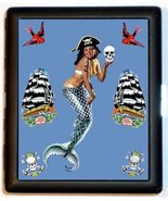 Pirate Mermaid ID & Business Card or Cigarette ... - $9.29