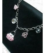 Designer Handbag Swarovski  Necklace Pendant  w... - $18.99