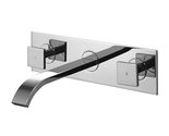 Buy Vigo VG05002CH Dual Handle Wall Mount Chrome Faucet