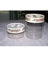 Spice of Life Canisters~Storage Jars by Pyrex - $19.00