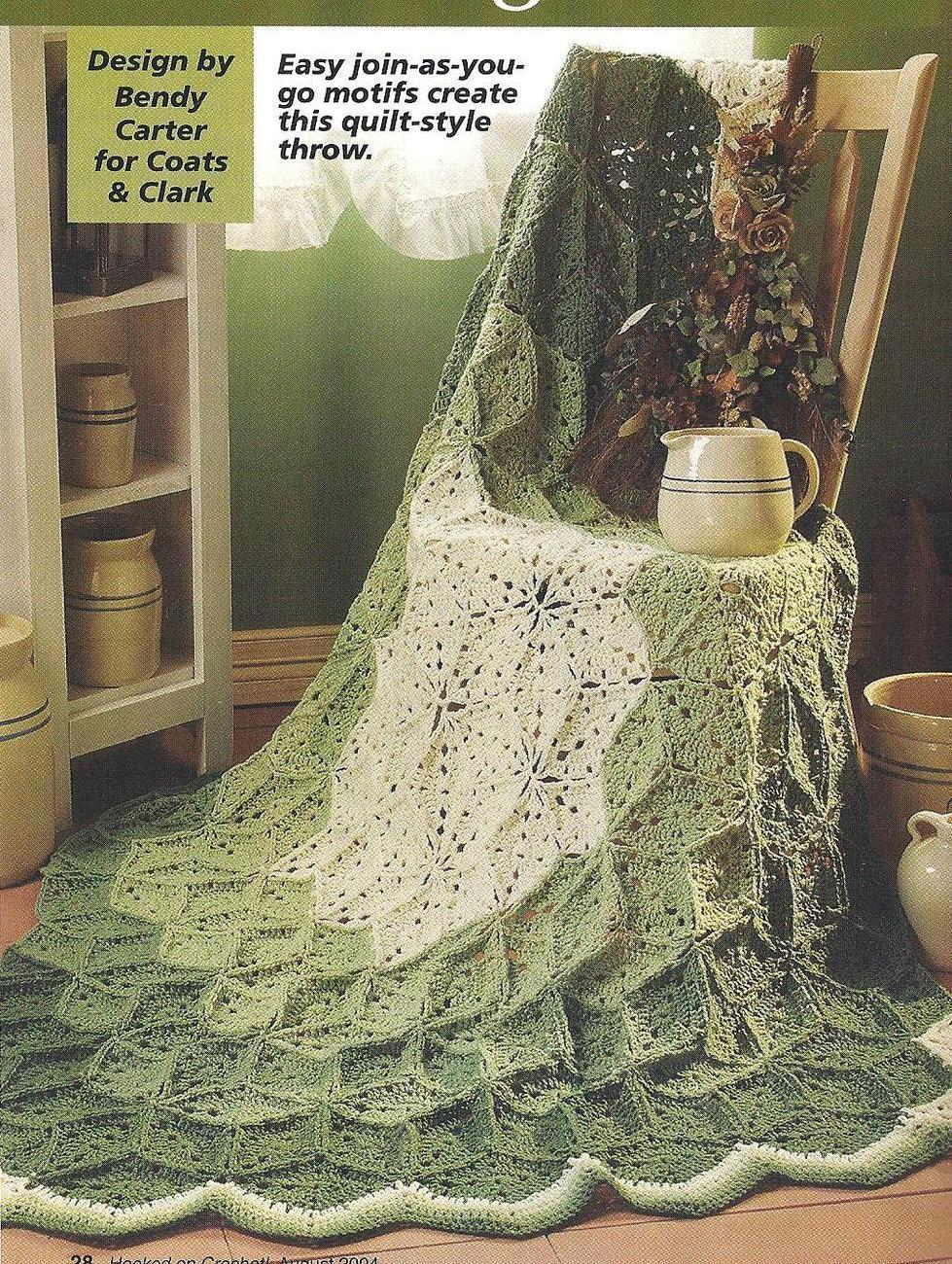 Crochet Pattern For One Piece Afghan Free Patterns For ...