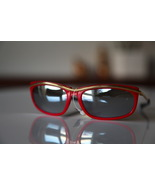 Polaroid Vintage Cat Eye Sunglasses Gold/ Red F... - $29.00