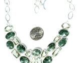 Buy New Sterling Silver Seraphinite Green Amethyst Choker Neckla
