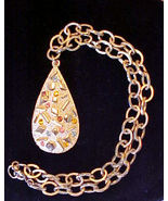 Vintage 1960's Sarah Coventry Sultana Necklace,... - $9.95