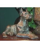 Silver Boxer Dog Figurine Italian by Artist Neno - $125.00