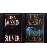 Lisa Jackson Shiver and Final Scream Softcover ... - $7.99