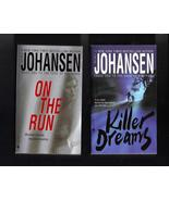 Iris Johansen On the Run and Killer Dreams PB  ... - $7.99