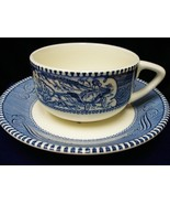 .Beautiful Blue Porcelain and Bone China Lady o... - $18.00