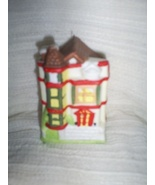 Village Miniature House Christmas Ornament - $3.00