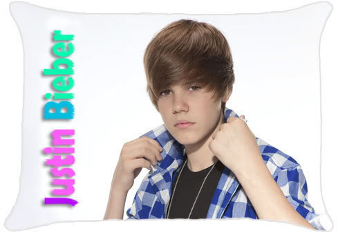 Justin Bieber Pillow on Booth   New Justin Bieber Cute 30 X20  Pillowcase Pillow Case