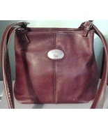 AMERICAN ANGEL GENUINE LEATHER BUCKET HANDBAG PURSE - $29.99