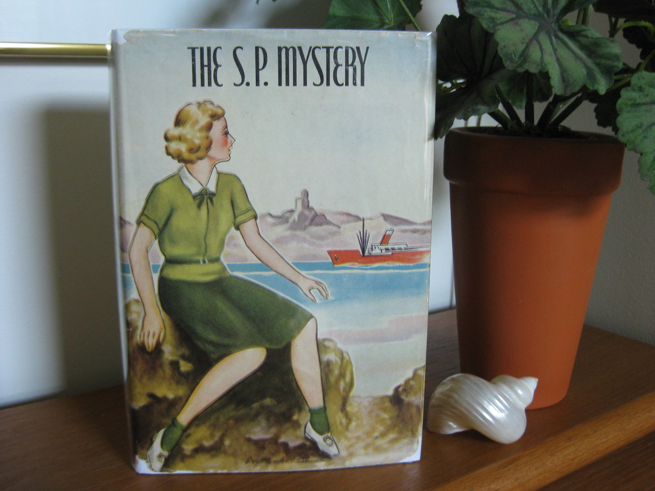THE S. P. MYSTERY * HARRIET PYNE GROVE  *DJ