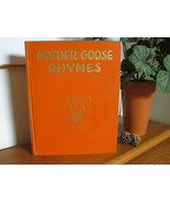 VINTAGE MOTHER GOOSE NURSERY RHYMES 1931 PLATT ... - $34.95