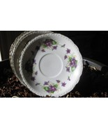 Royal Jackson Vogue Saucers set of 4 Plates Fin... - $29.00