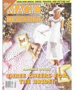 Magic Crochet #118~Bridal Dress~Parasol~Bedspreads - £13.77 GBP