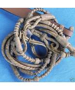NATURAL RAWHIDE BRAIDED SHOW ROMAL ROMEL ROMMEL REIN