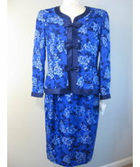 Adrianna Papell 100% Silk Suit Size 12 NWT - $52.00