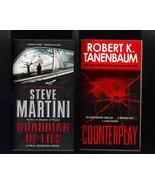 Steve Martini and Robert K Tanenbaum PB  Lot of... - $7.99