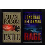 Allan Folsom and Jonathan Kellerman PB  Lot of ... - $6.99