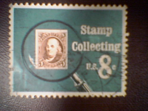Stamp Collecting-----u.s. 8 c stamp