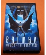 Vintage VHS Movie  Batman Mask Of The Phantasm ... - $10.00