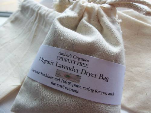 Organic Lavender Dryer 10 Bags- Long Lasting!