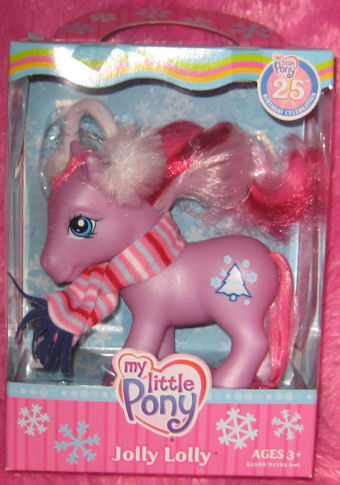 G3 My Little Pony Christmas 2007 JOLLY LOLLY MIB