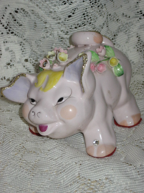 VTG Lefton  Piggy Bank
