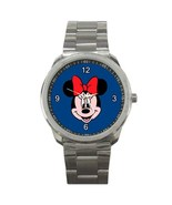Minnie Mouse Sport Metal Watch IwB371 - $14.50