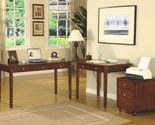 Buy Home Office Desk L Shape File Cabinet 2 Desks Furniture