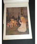 Antique Picture Lithograph Goldielocks And Thre... - $17.99