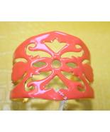 Amrita Singh Moroccan orange enamel cuff brand NWT - $32.00