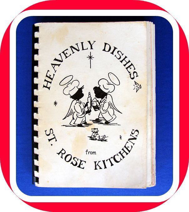 HANDWRITTEN Recipes Church COOKBOOK St. Rose Portland