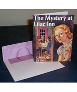 Nancy Drew Lilac Inn Notecard FREEBIE with Purc... - $0.00