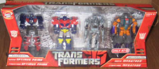 Transformers 2006 Target-Exclusive 4-Pack