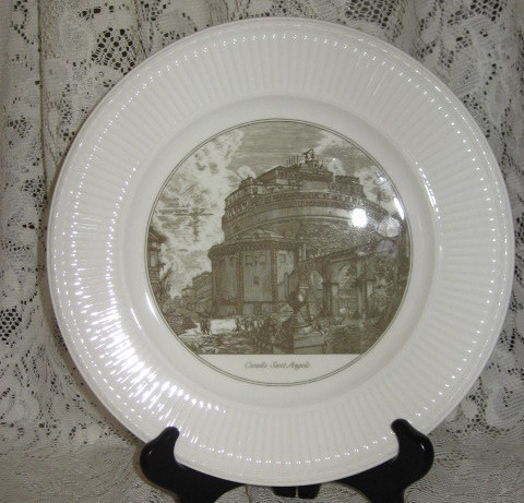 Piranesi - Castle of St. Angelo-Collector Plate