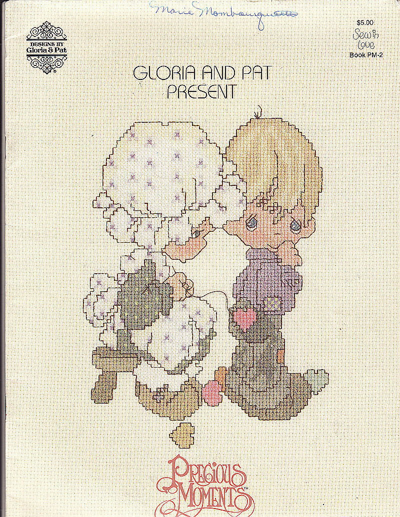 Were can I download free precious moments cross stitch patterns