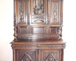 Buy Buffets & Sideboards - Antique Renaissance Style Walnut Buffet Server #C1124