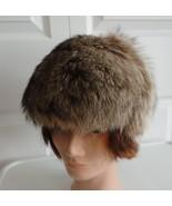 Vintage Gorgeous Raccoon Fur Women Hat S 21 AND... - $72.39
