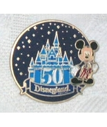 Disney Travel Disneyland 50 Anniversary  Mickey... - $9.99