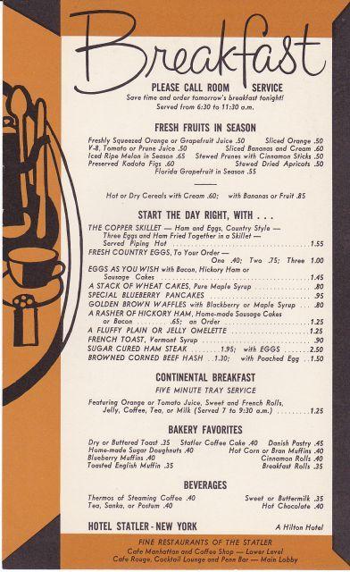 Original Circa 1958 Hotel Statler New York A scarce Room  : 049339 from bonanza.com size 392 x 640 jpeg 66kB