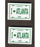 1993 I Love Atlanta Standard Playing Poker Game... - $4.99