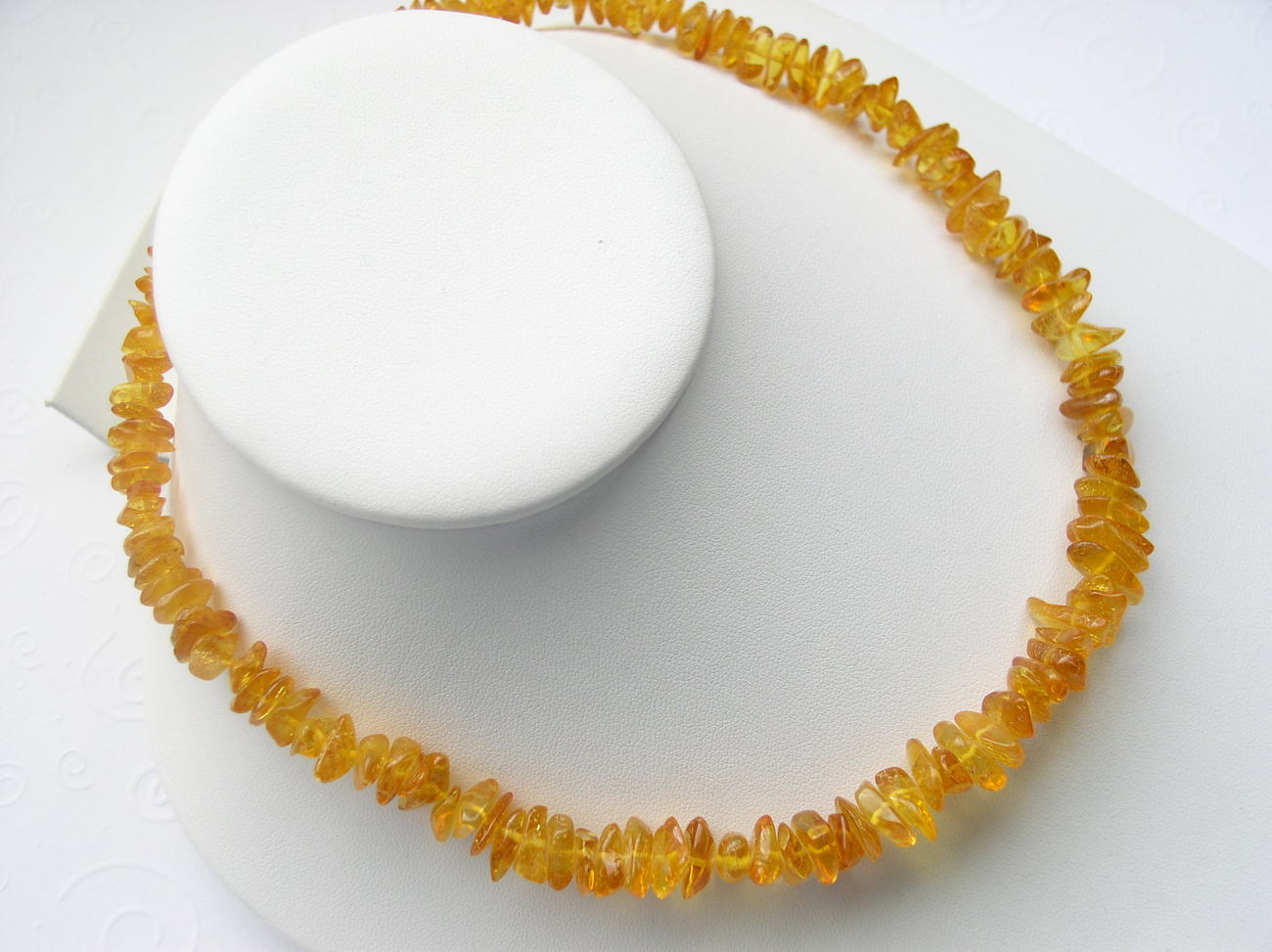 Genuine Baltic Amber Necklace Rich Honey Lemon