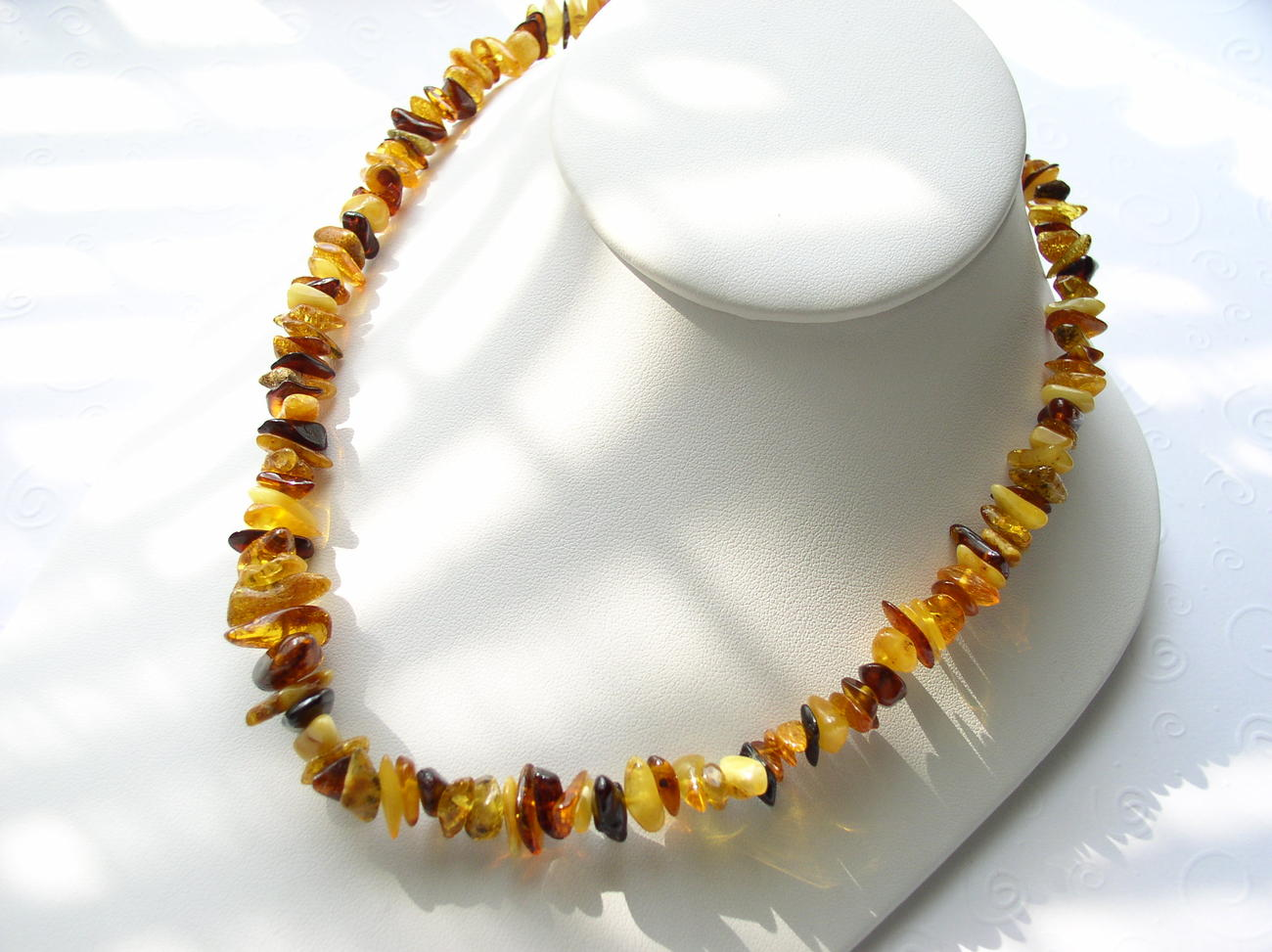 Genuine Baltic Amber Necklace Cherry Lemon Honey Butterscotc