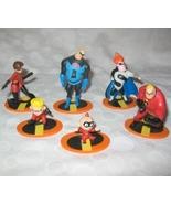 Rare Disney Pixar The Incredibles Plastic Figur... - $50.00