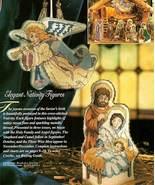 Y662 Cross Stitch PATTERN ONLY Elegant Nativity... - $11.45