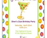 Buy Announcements - Drinks Anyone Margarita Party CUSTOM Invitations