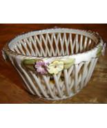 Handmade Weave Lace Porcelain Bowl - $24.30