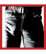 Photo Patch Rolling Stones Sticky Fingers Patch - $3.22